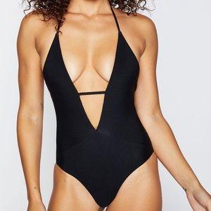 Frankie's Bikinis Lilly One Piece Sz MEDIUM